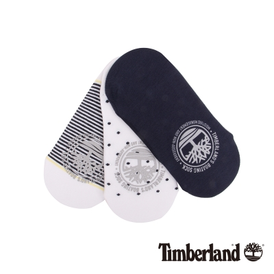 Timberland 女款涼感材質造型後襯船型襪組