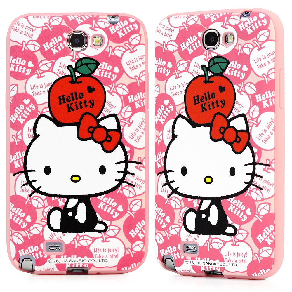 GOMO Hello Kitty Samsung Note2 TPU軟殼-A2