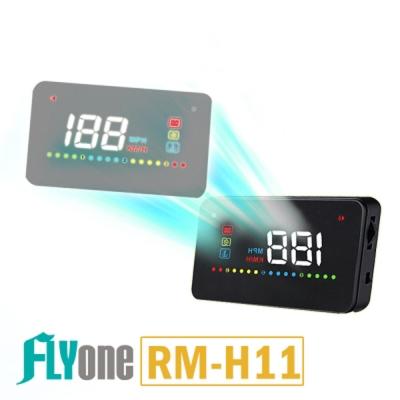 FLYone RM~H11 彩色增強 升級版HUD OBD2 抬頭顯示器