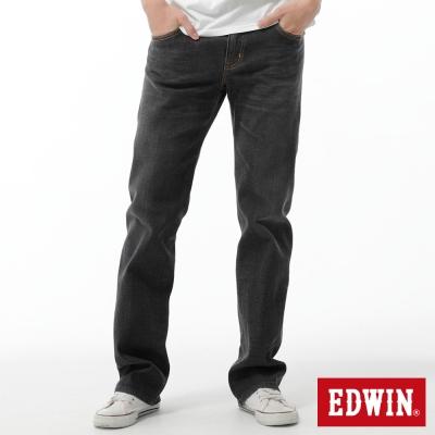 EDWIN 中直筒  503  ZERO無接縫牛仔褲-男-灰色