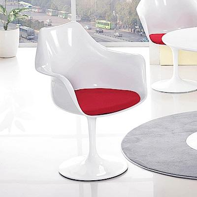 H&D 塑鋼造型椅 (寬68X深56X高86cm)