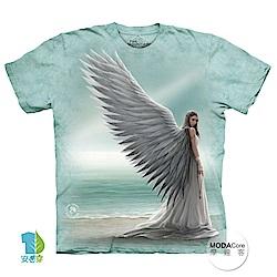 摩達客 美國進口The Mountain 天使女神 純棉環保短袖T恤