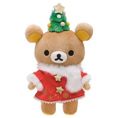 拉拉熊2016聖誕節店舖限定版毛絨公仔。懶熊