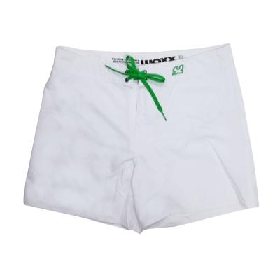 WAXX 純白如雪高質感吸濕排汗男性海灘褲