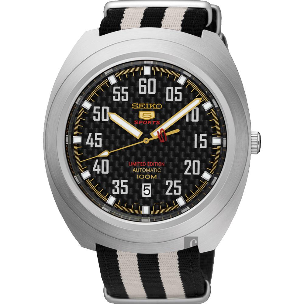 SEIKO精工 5號盾牌23石限定機械腕錶(SRPA93J1)