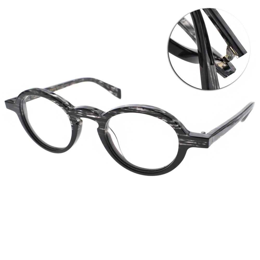 EOS眼鏡 法國手工框/流線透黑#EOSE8325 C02
