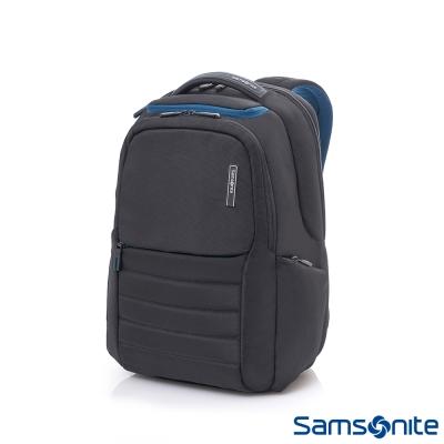Samsonite-新秀麗GARDE-涼感背負設計筆電後背包-14吋-黑