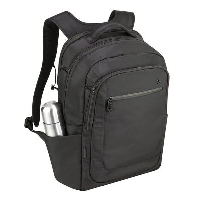 Travelon美國防盜包 RFID防割鋼網素面質感後背包 TL-43105-16 黑