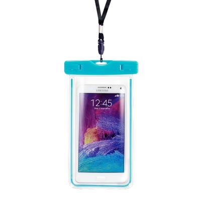 Universal 適用6吋以下智慧手機運動螢光防水袋