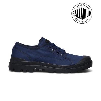 Palladium Pampa M66 Oxford-男-海軍藍