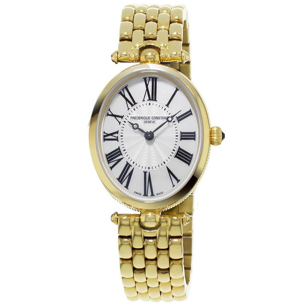 康斯登 CONSTANT  CLASSICS百年經典系列ART DECO腕錶-金