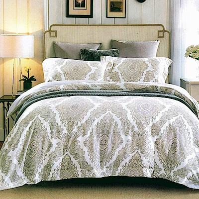 La lune 100%60支紗萊賽爾天絲300織雙人特大兩用被床包四件組 洛爾卡之夢
