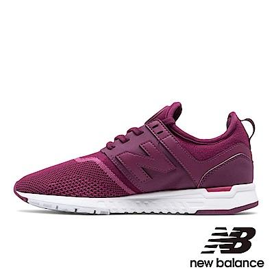 NEW BALANCE247編織運動鞋-女WRL247EB紫色