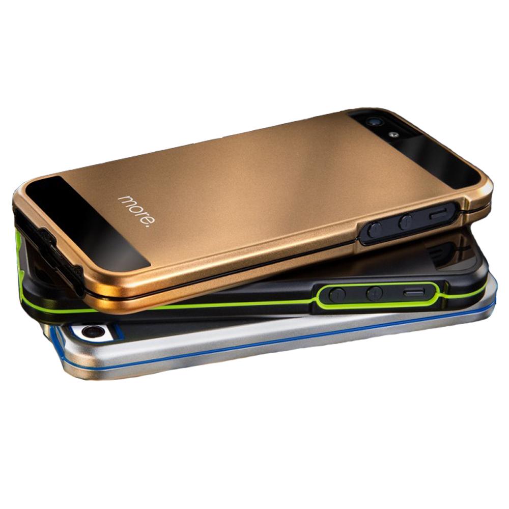 more. iPhone5/5S METAL HYBIRD CASE 金屬鎧甲保護殼