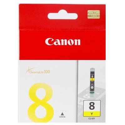CANON CLI-8Y 原廠黃色墨水匣