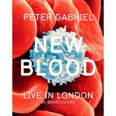 彼得蓋布瑞爾 - 新血 DVD+BD+3DBD
