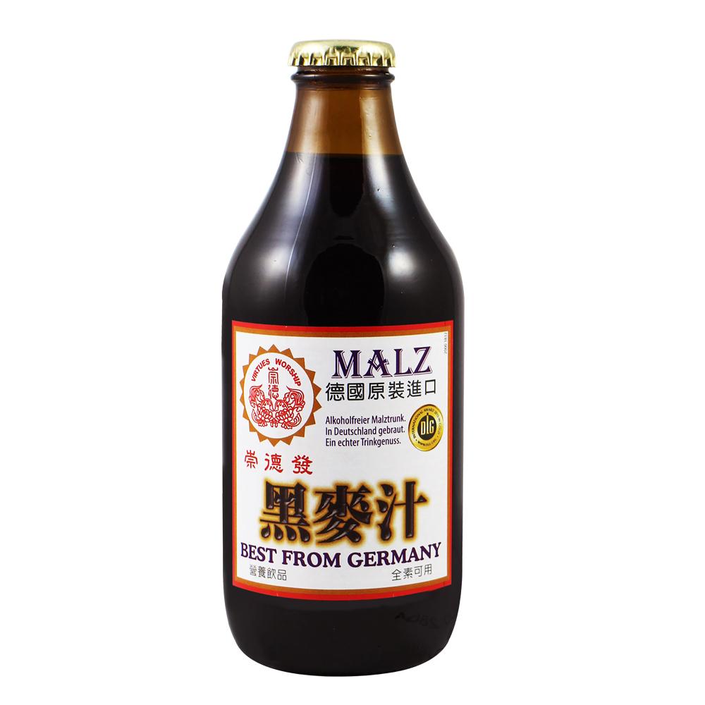崇德發 黑麥汁(330mlx6瓶)