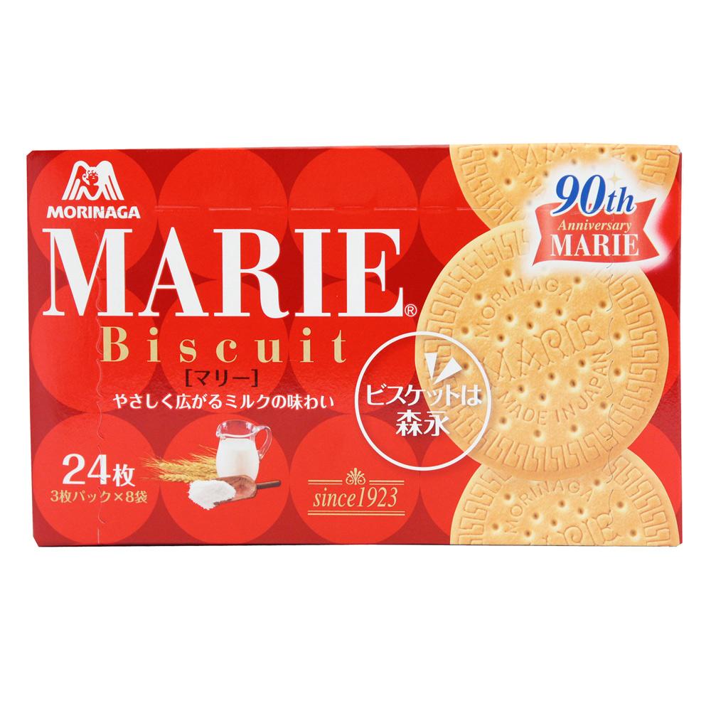 森永製果 瑪莉牛奶餅(129.6g)