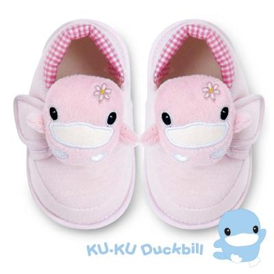 任選-KU.KU酷咕鴨 酷咕鴨可愛造型學步鞋-粉(M/L/XL/LL)