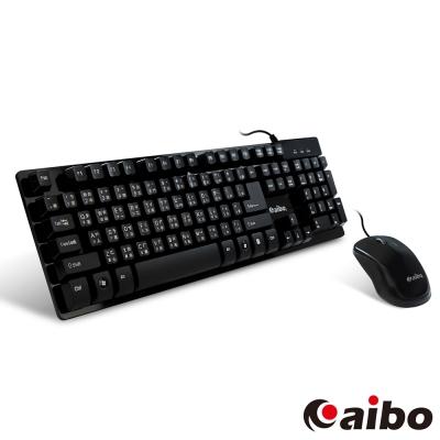 aibo Executive KM61 機械手感懸浮有線鍵盤滑鼠組