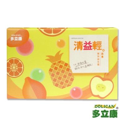 多立康 清益輕蔬果雙酵益生菌(60 粒/盒)