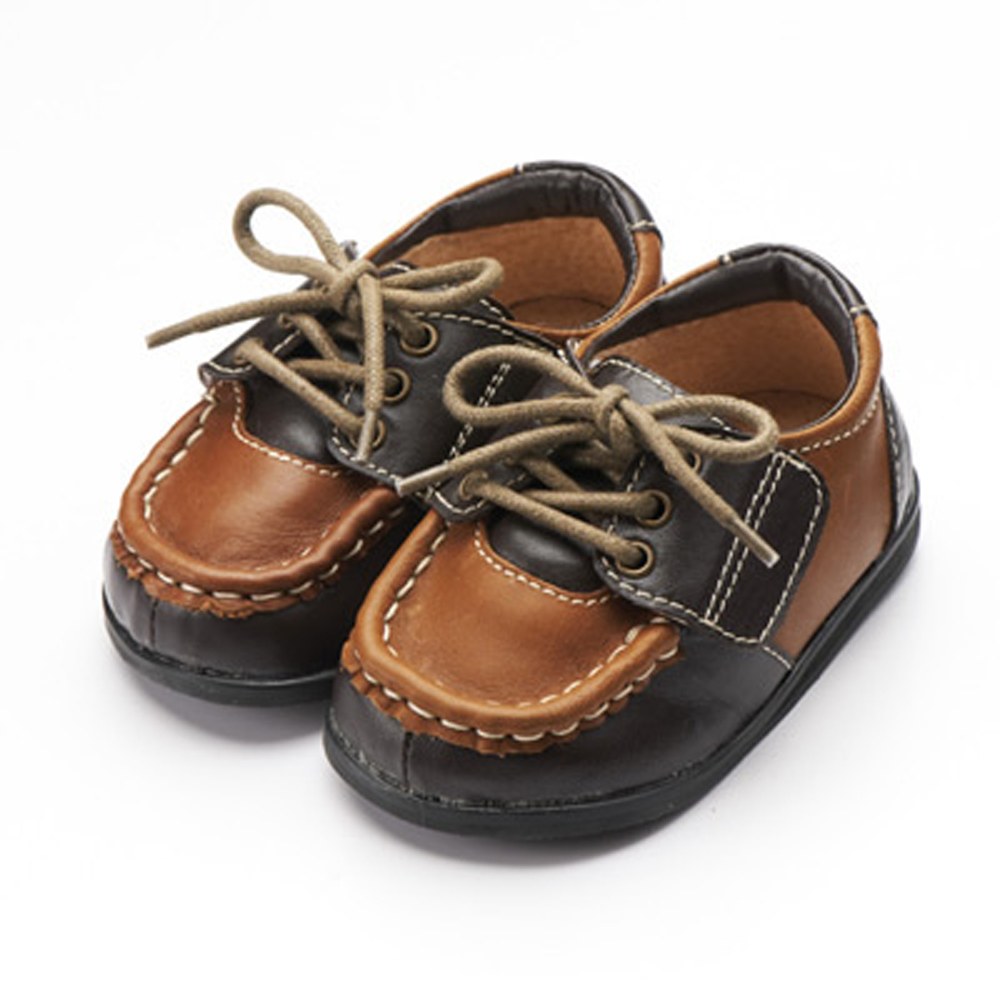 麗嬰房【my nuno】nuno 寶寶外出鞋 (咖啡紳士) 13.5~15cm