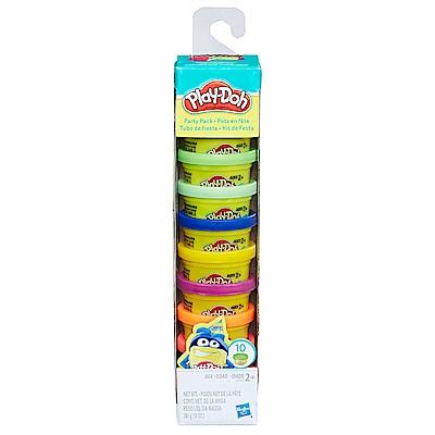 培樂多Play-Doh 創意DIY黏土十罐派對組 22037(3Y+)
