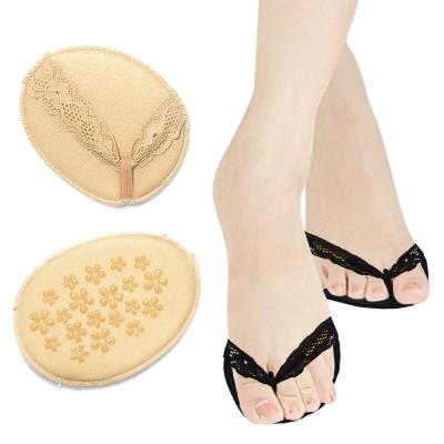 足的美形 隱形透氣前掌墊  膚(3雙)