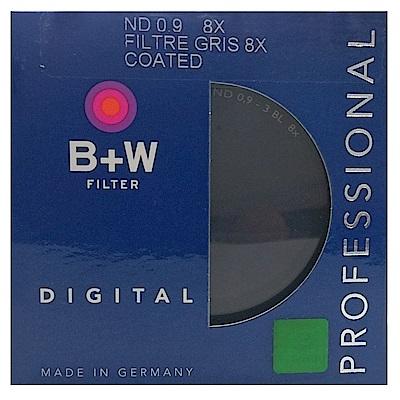 B+W 103 ND8單層鍍膜減光鏡(67mm/公司貨)