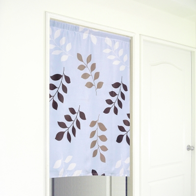 布安於室-三色葉遮光門簾-寬130x高150cm