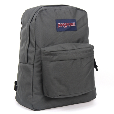 JanSport 校園背包(SUPER BREAK)-灰
