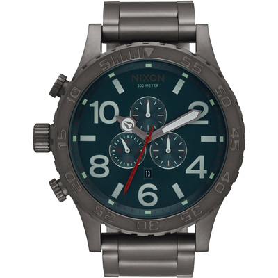 NIXON 51-30 CHRONO 潛龍諜影運動腕錶-A0832340/51mm