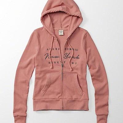 AF a&f Abercrombie & Fitch 外套 粉紅色 0533
