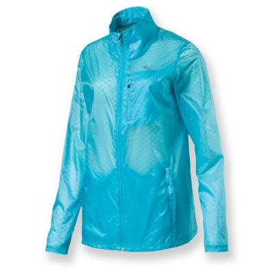 PUMA-女性慢跑系列傘型透氣風衣外套-土耳其藍-亞碼