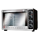 晶工牌45L雙溫控不鏽鋼旋風烤箱 JK-7450