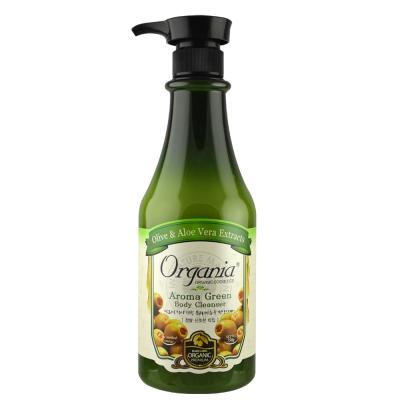 Organia歐格妮亞 草本綠茶沐浴乳750g-呵護弱敏肌