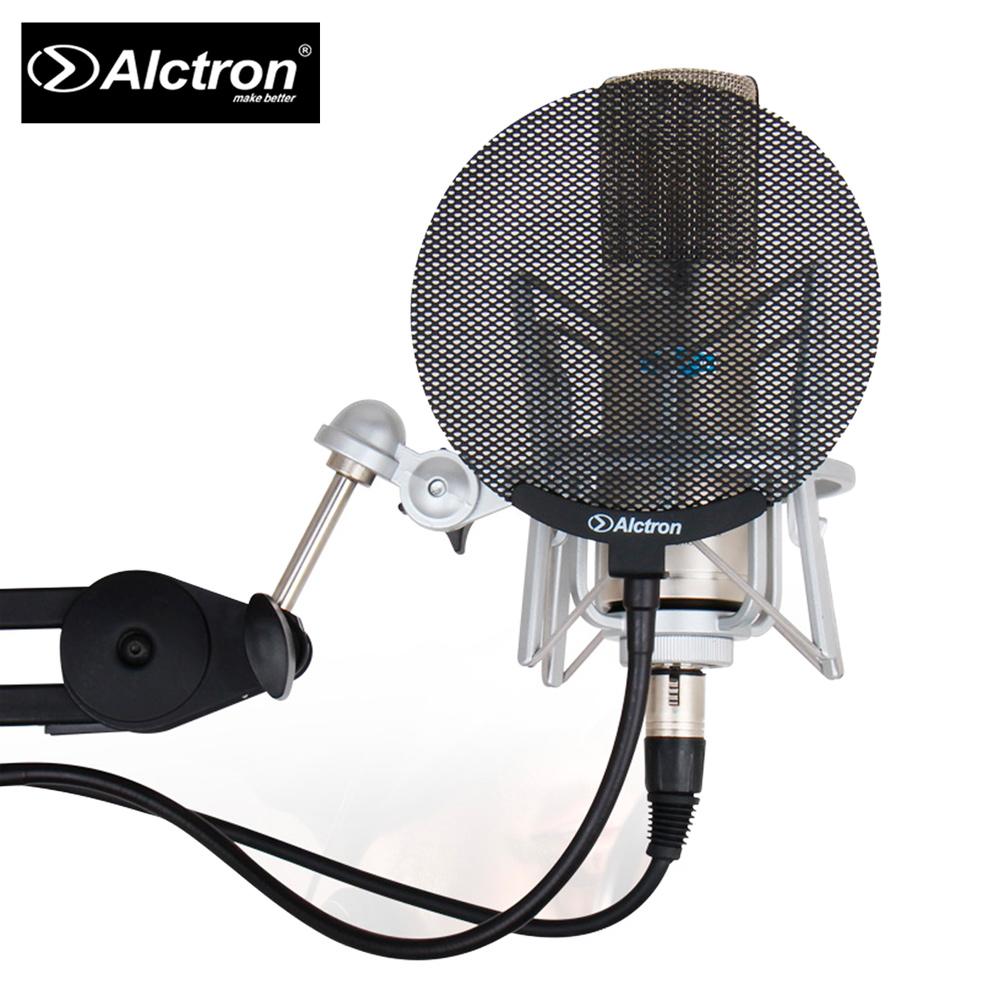 ALCTRON MA019B 錄音用防噴罩 金屬款