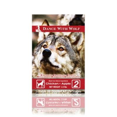澳洲Dance With Wolf 荒野饗宴之與狼共舞《農場雞肉蘋果》犬糧14.5磅