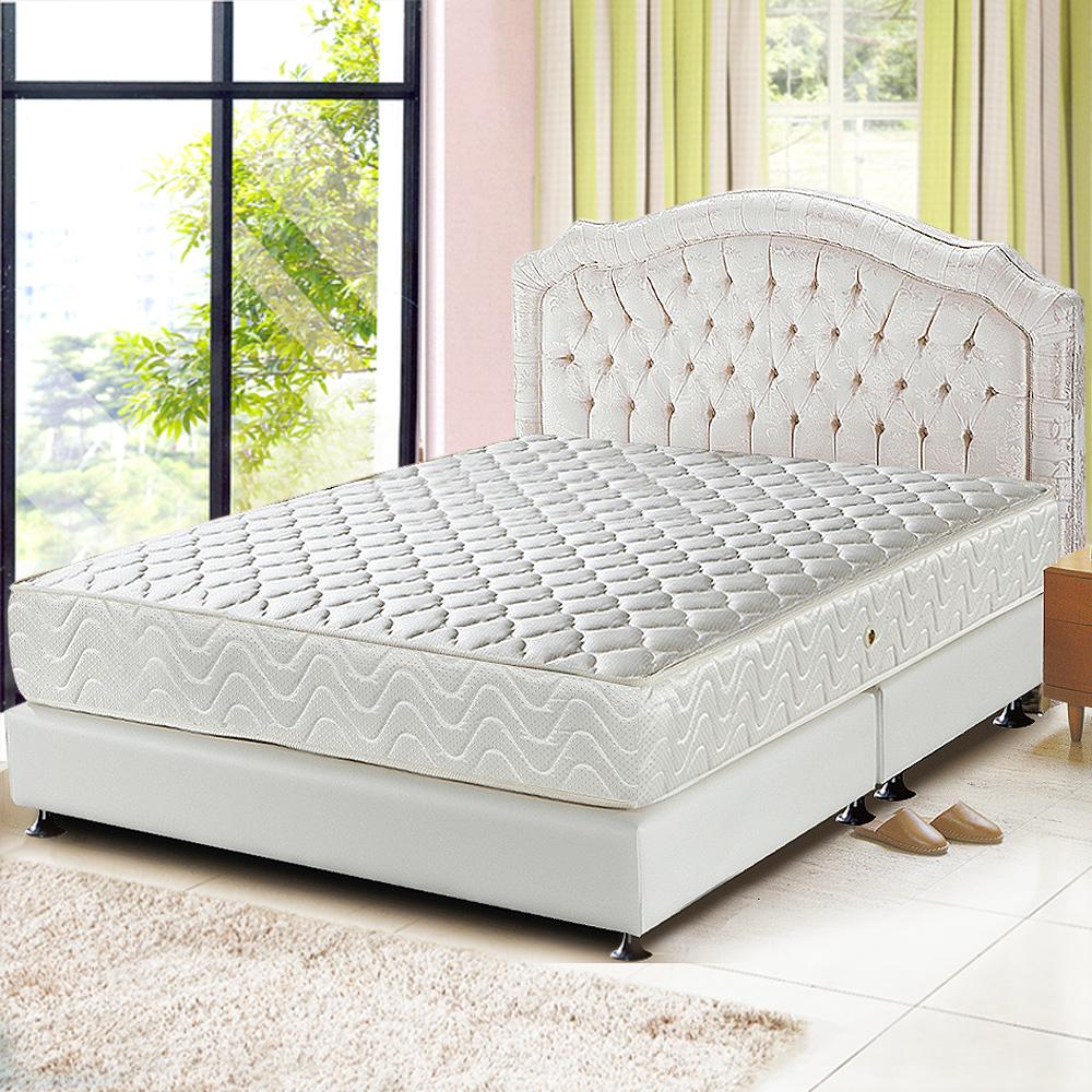 Ally愛麗 乳膠3M防潑水透氣涼蓆護背床墊-雙人5尺