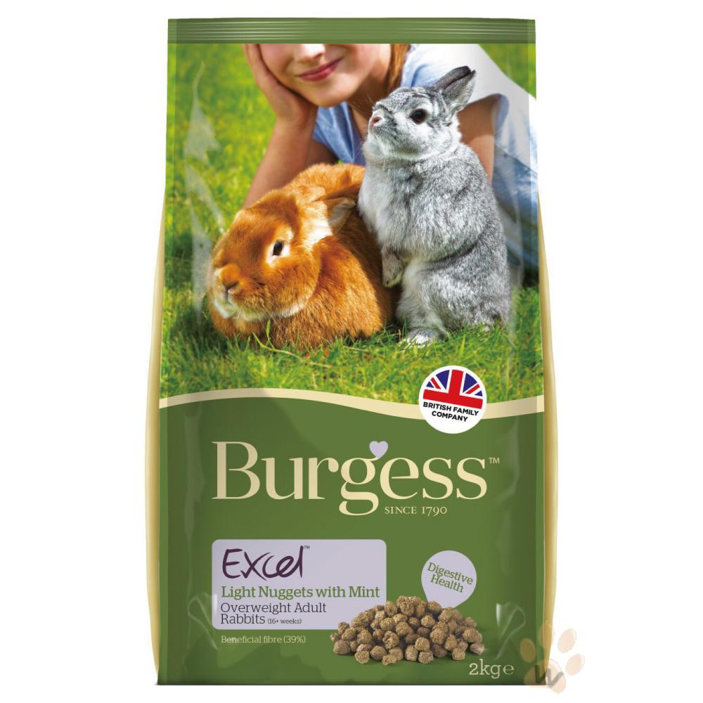 Burgess伯爵高機能兔飼料-減肥兔2kg 2入