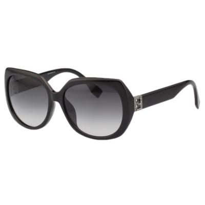 FENDI 時尚太陽眼鏡 (黑色)FF0047FS