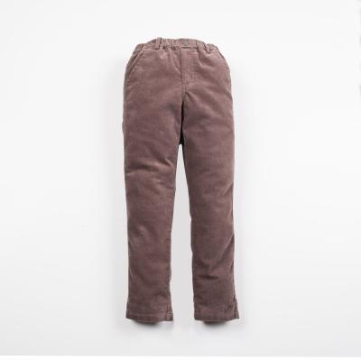 PIPPY 絨布水洗長褲 咖啡