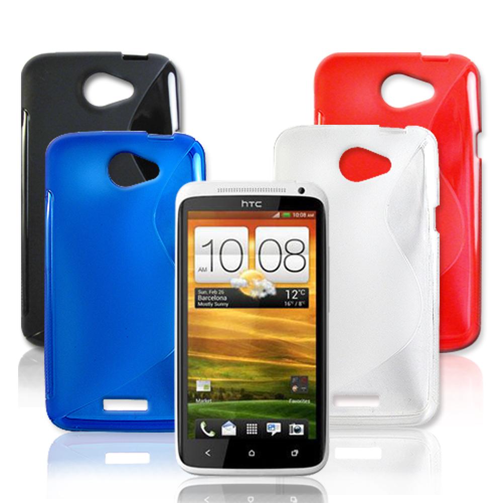VXTRA HTC One X 高質感拼色混搭水晶套