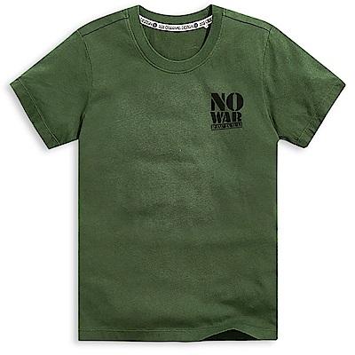 101原創 反戰短袖T恤上衣-軍綠