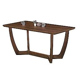 AT HOME-瑪沙5尺胡桃色實木餐桌(150*85*75cm)