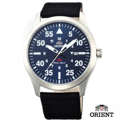 ORIENT 東方錶 SP 系列 飛行運動石英錶-藍色/42mm