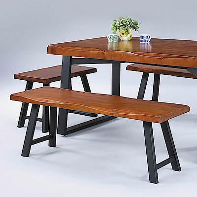 H&D 卡啦胡桃5.3尺長凳 (寬160X深32X高46cm)