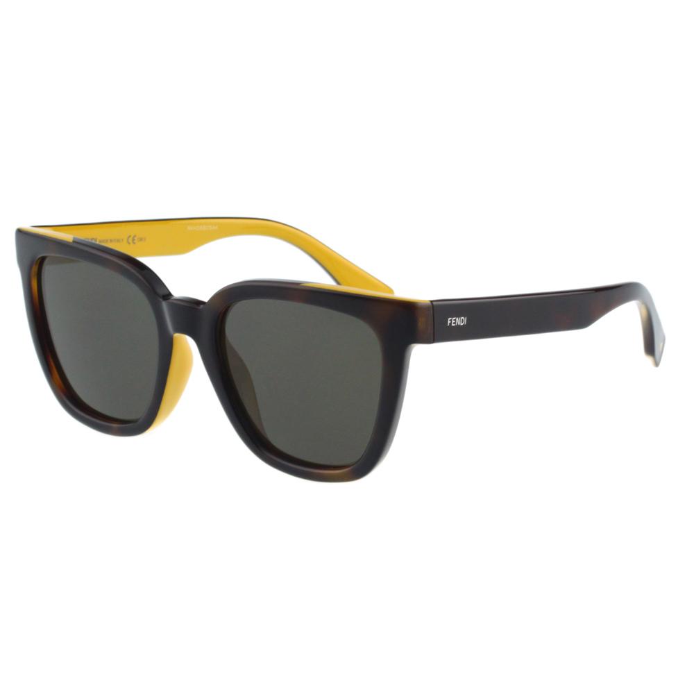 FENDI-時尚太陽眼鏡(琥珀色)