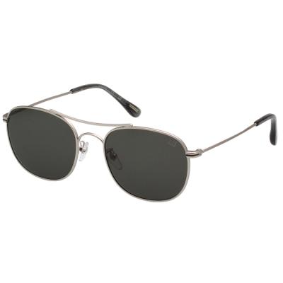 Dunhill 飛官款 太陽眼鏡 (銀色)SDH050