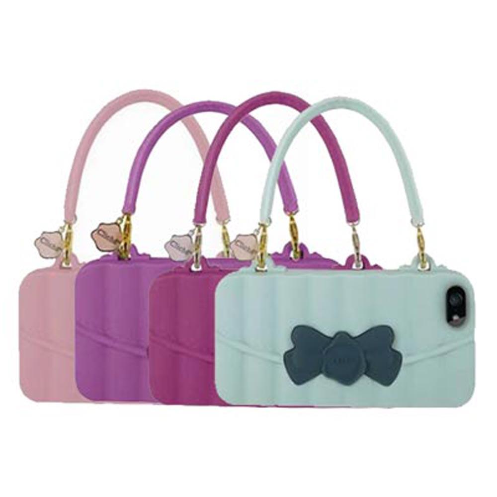 Candies iPhone5/5S 晚宴包Matelasse 矽膠保護殼